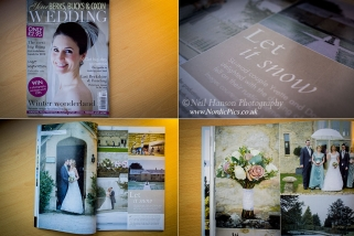 Caswell House Winter Wedding photography by Neil Hanson