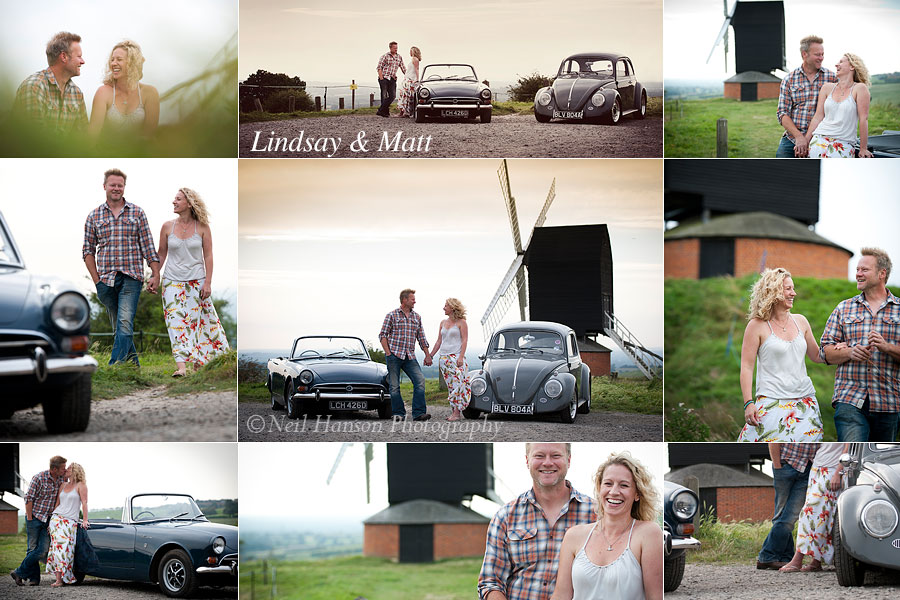 Styled Creative Engagement & pre-Wedding Portrait sessions by Oxfordshire Photographer Neil Hanson