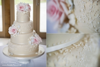 Vintage Wedding Cakes by The Pretty Cake Company in Minster Lovell
