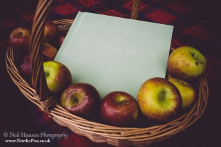 Fine Art Wedding Albums by Neil Hanson Photography