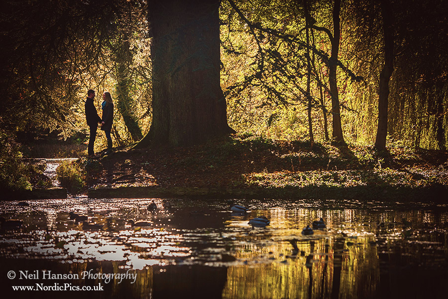 Louise and Fraser Oxfordshire engagement portraits by neil hanson photography