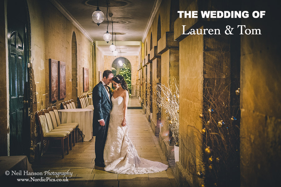 Lauren & Toms Winter Wedding at Blenheim Palace