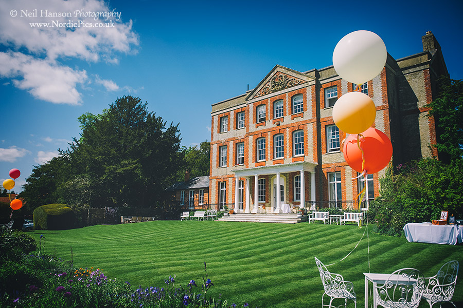 The beautiful Ardington House Wedding venue in Oxfordshire