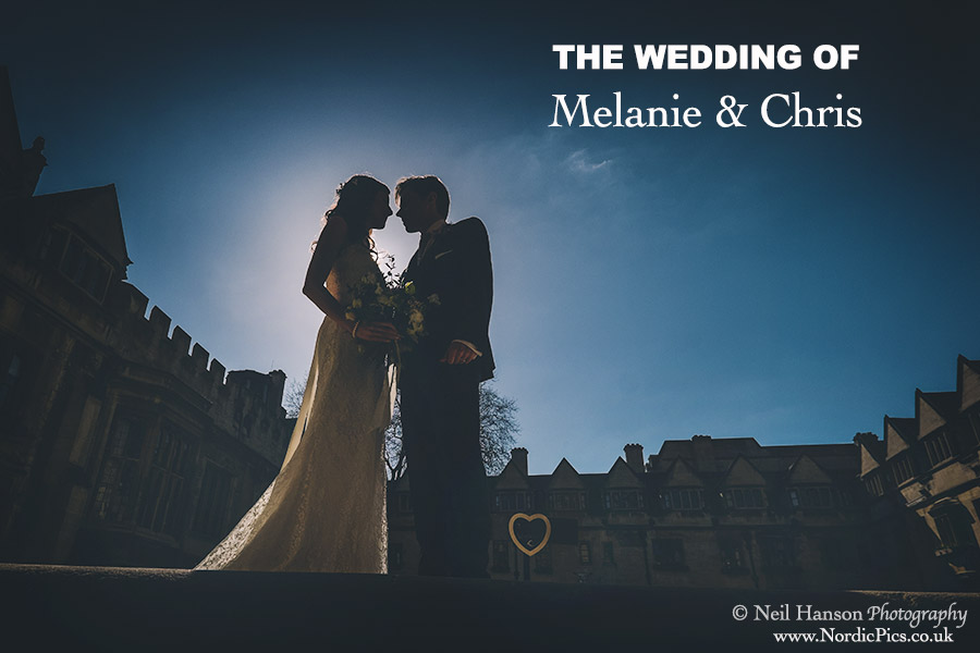 Melanie & Chris Wedding at Brasenose College Oxford