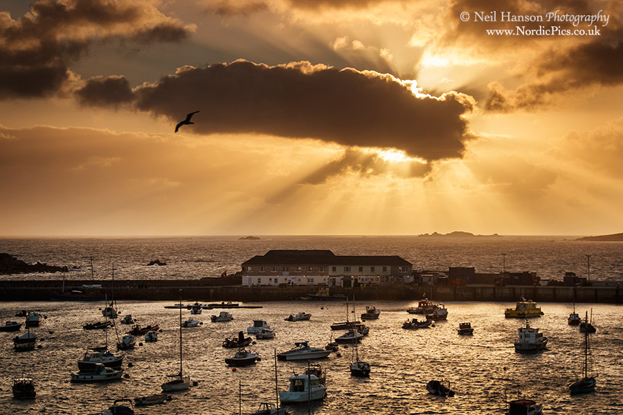 St Marys Harbour Sunset