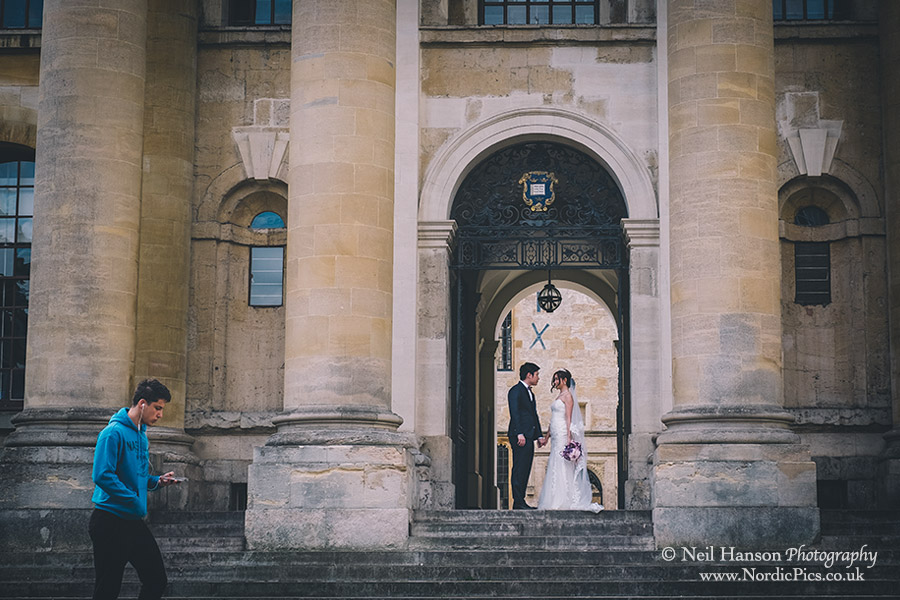 Chinese engagement photography in Oxford