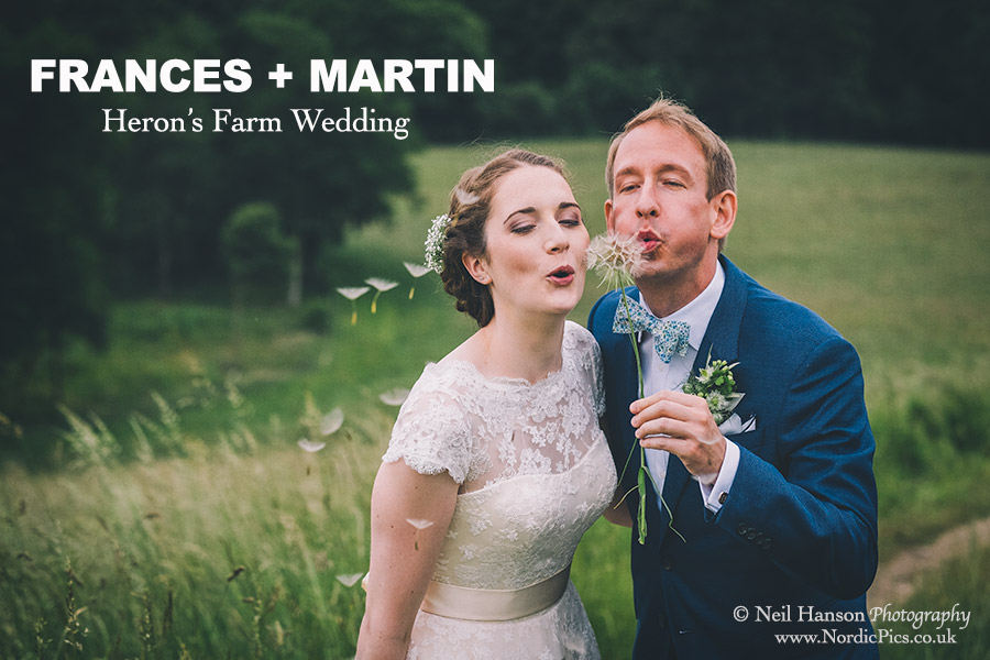 Frances & Martins Herons Farm Wedding Photography