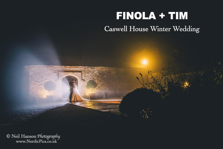Winter Wedding at Caswell House by Neil Hanson Photography
