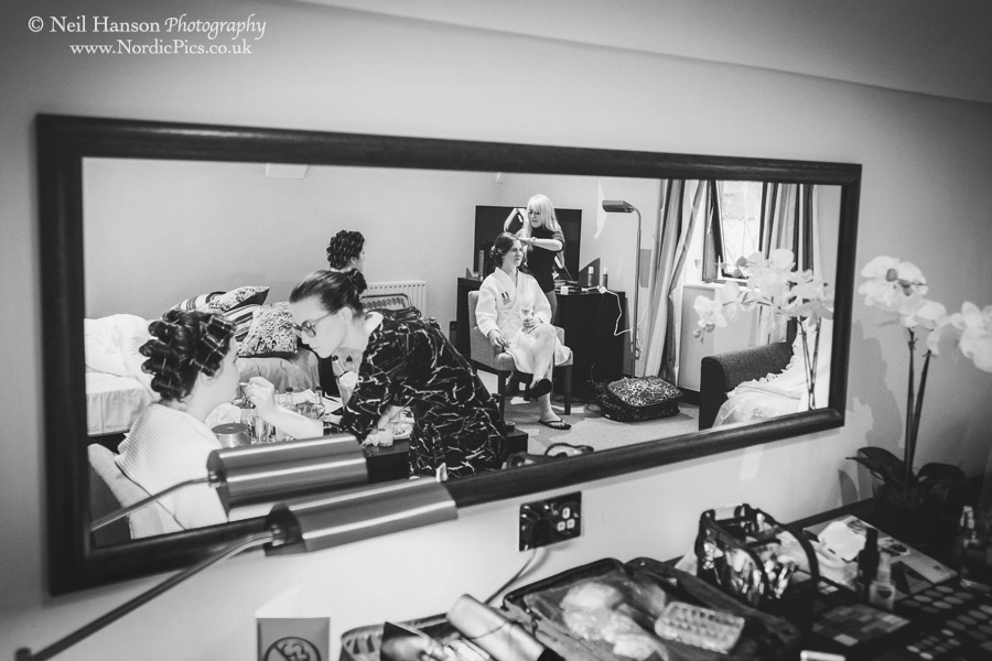 Caswell House Bridal preparations